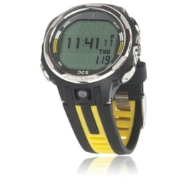 Oceanic OCS Dive Computer Wrist Watch, Yellow -