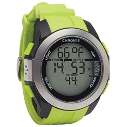 Scubapro CHROMIS Tauchcomputer Taucheruhr (black-lime) -