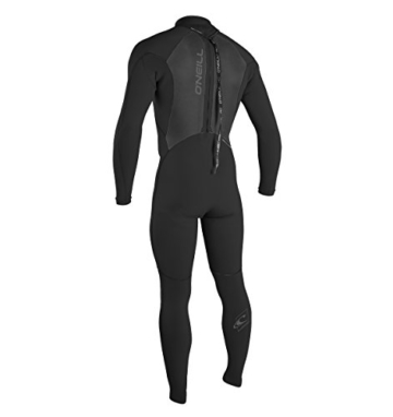 O'Neill Wetsuits Herren Neoprenanzug Epic 5/4 mm Full Wetsuit, Black, L, 4217-A05 - 2