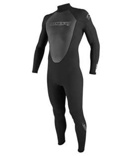 O'Neill Wetsuits Herren Neoprenanzug Reactor 3/2 mm Full Wetsuit, Black, L, 3798-A05 - 1